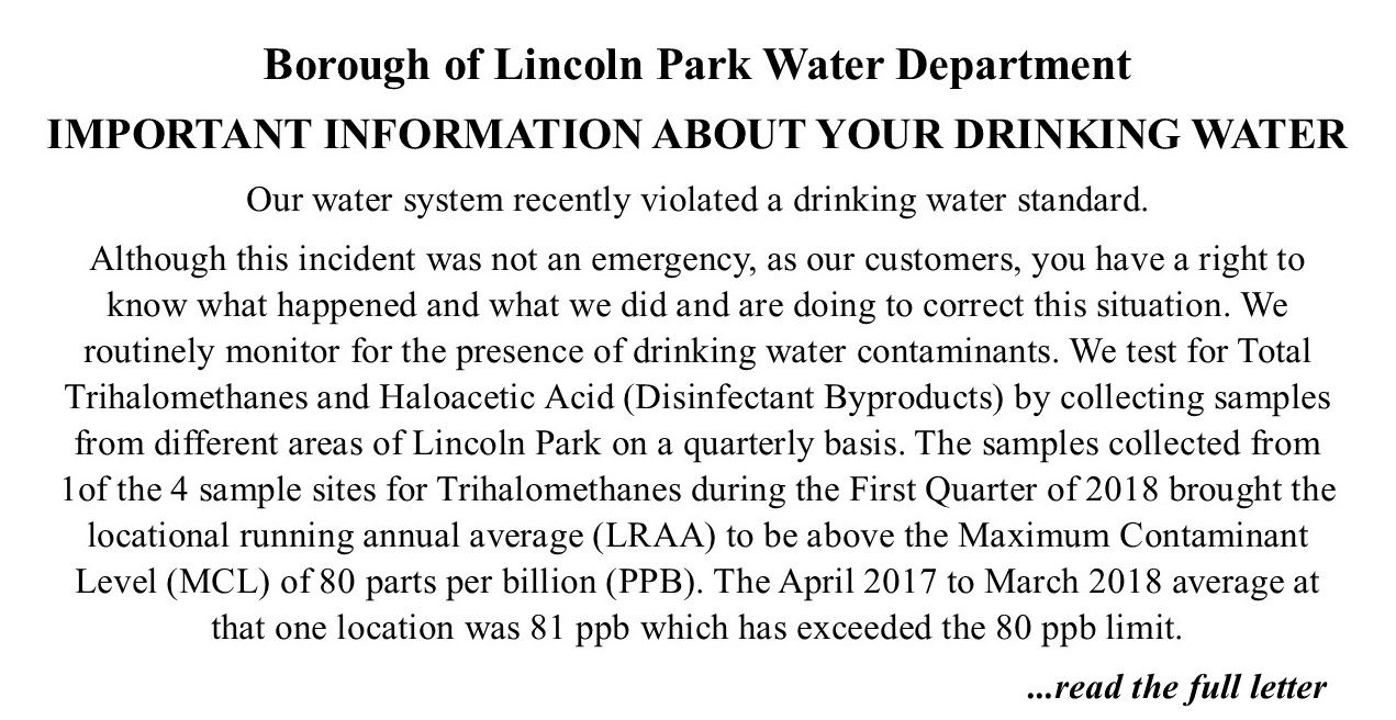 water notification 4-26-18