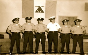 Picture of Police Officers from the 1960s